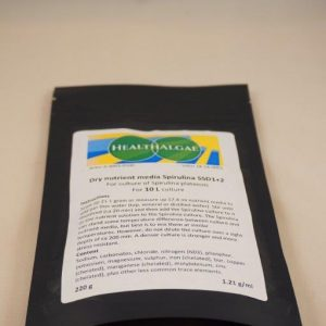 Spirulina platensis 10 L dry grow medium SSD1+2 (210 gram)