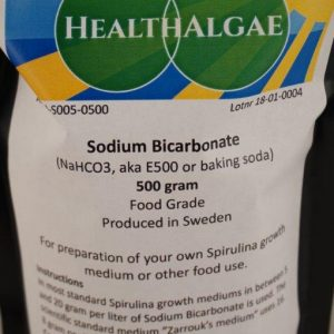 Sodium Bicarbonate – Quality Food Grade (NaHCO3, other names E500 or baking soda)
