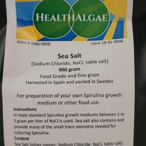 Sea Salt (900 gram) – Swedish Food Grade and Fine Grain (other names Sodium Chloride, NaCl or table salt)