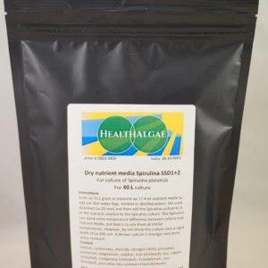 Spirulina platensis 40 L dry grow medium SSD1+2
