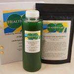HealthAlgae Spirulina platensis starter culture 500 ml + 10L grow medium - www.healthalgae.com clean Spirulina grown and produced in Sweden